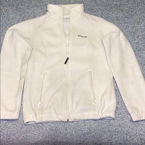 Columbia full zip fleece jacket.